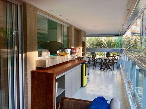 Apartamento com privacidade e vista do verde
