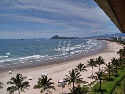 Lindo pé na areia com vista panorâmica – 147 m² de área útil