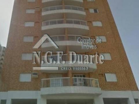 Apartamento na Praia Grande na Vila Tupi com 2 dormitórios