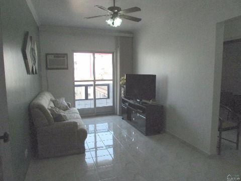 Apartamento de 1 dormitório na Praia Grande no Ocian