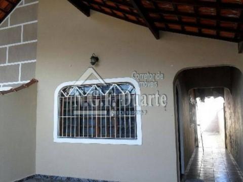 Casa na Praia Grande na Vila Mirim com 2 dormitórios