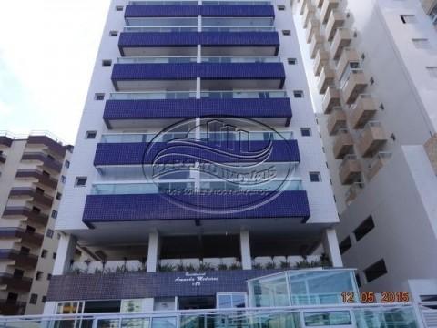 Apartamento em Praia Grande SP. 2 Dormitórios com 1 suite