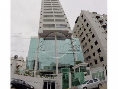 Apartamento á venda de 3 dormitórios no Canto do Forte, Praia Grande/SP