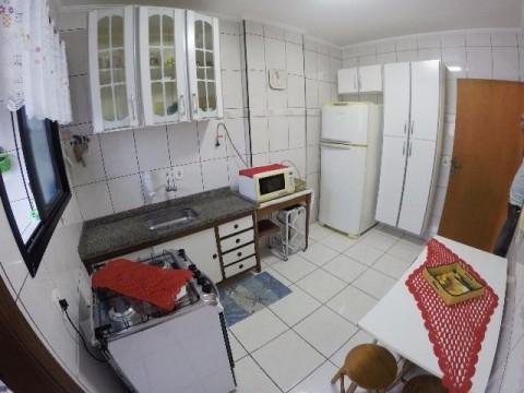 Apartamento de 1 dormitório na Guilhermina-Praia Grande-SP