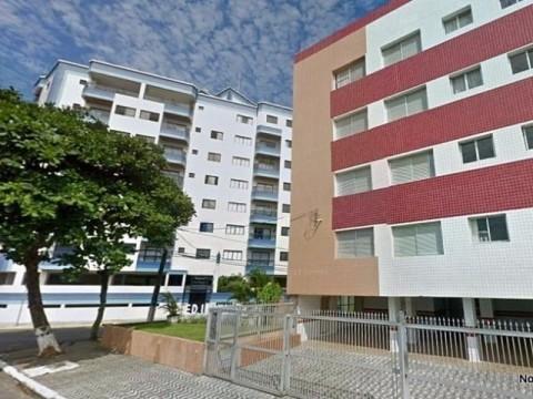 Apartamento de 1 dormitório em Praia Grande