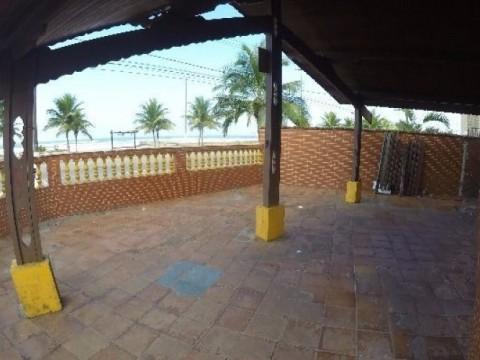 Casa em Praia Grande - FRENTE AO MAR - Casa na Vila Mirim - Imóvel frente ao Mar