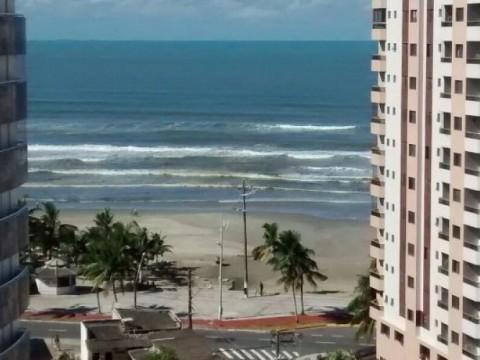 Apartamento em Praia Grande - Aparetamento de 1 dormitório na Vila Mirim