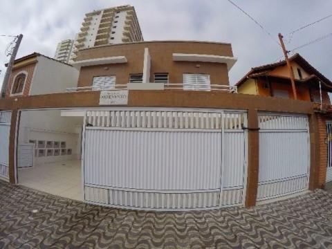 Casa em condominio fechado em Praia Grande