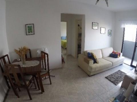Apartamento em Praia Grande - Apartamento de 1 dormitório na Vila Tupi