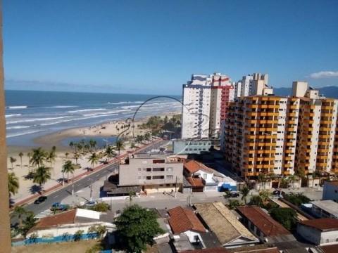 Apartamento oportunidade cidade ocian em praia grande com vista praia