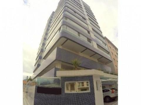 Apartamento em Praia Grande, 2 dormitórios e churrasqueira .