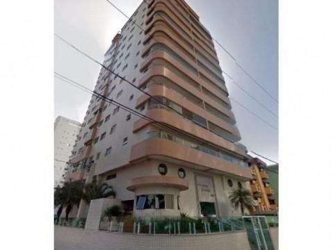 Apartamento em Praia Grande 3 dormitórios e sacada com churrasqueira.