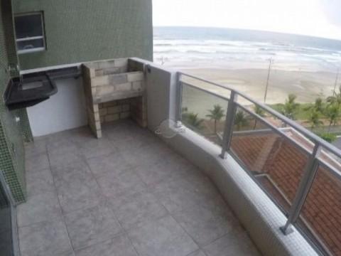 Apartamento de 02 Dormitórios de Frente à Praia em Praia Grande - Bairro Vila Caiçara