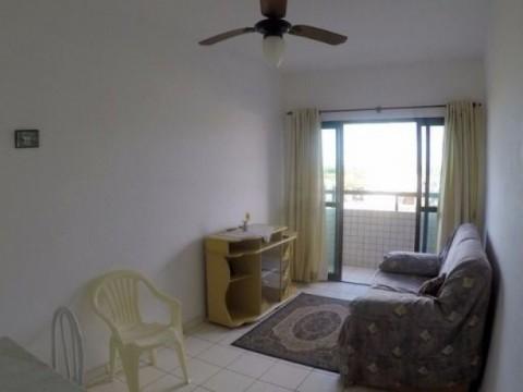 Apartamento de frente ao mar com 02 sacadas!