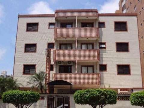 Apartamento de um dormitório no Canto do Forte / Praia Grande