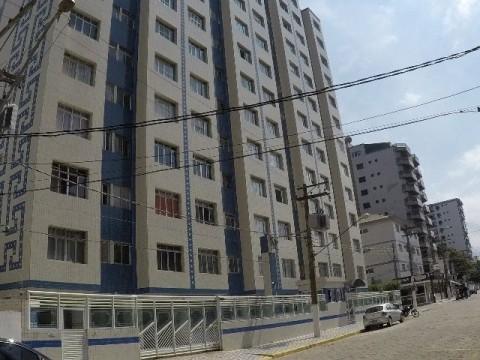 Kitchnette dividida em um dormitório em Praia Grande
