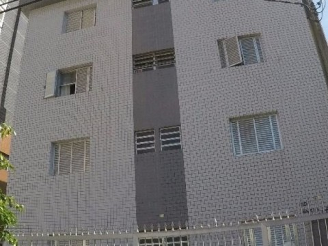 Apartamento de um dormitório á venda em Praia Grande