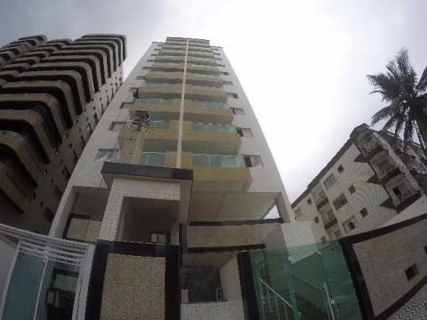Grande oportunidade á venda em Praia Grande, apartamento de 01 dormitório novo