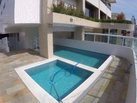Apartamento um dormitório á venda em Praia Grande bairro Vila Tupi