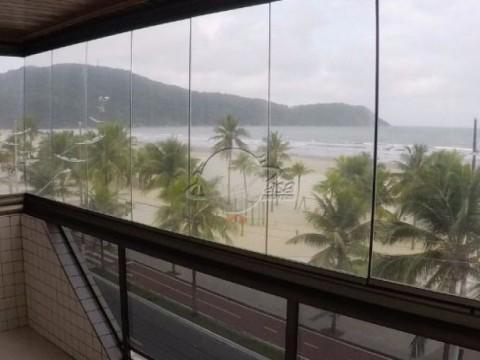 Frente pro mar, Canto do Forte, Praia Grande