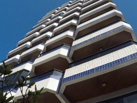 Apartamento dois dormitórios a venda na Vila Guilhermina em Praia Grande
