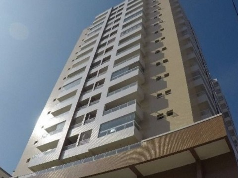 Apartamento novo de dois dormitórios com duas suítes em Praia Grande