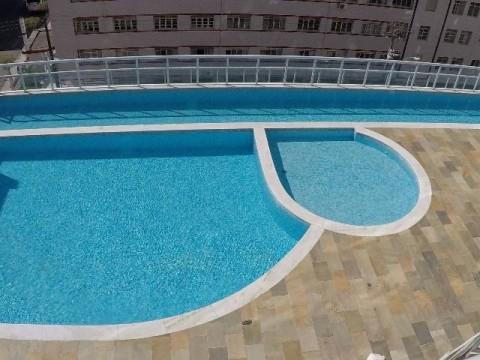 Excelente apartamento de 02 dormitórios e 02 suítes no Boqueirã