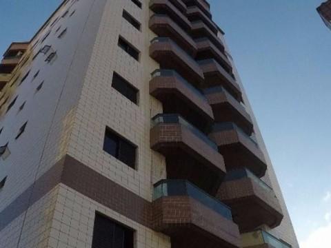 Apartamento dois dormitórios com suíte em Praia Grande