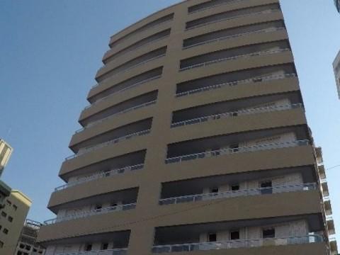 Apartamento dois dormitórios na Vila Guilhermina em Praia Grande