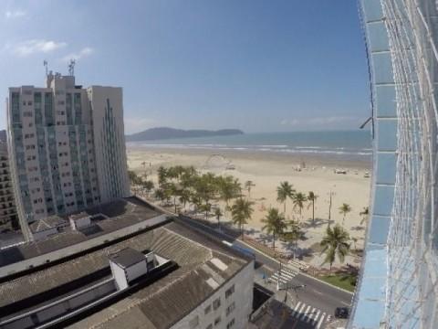 Apartamento de 01 Dormitório com Vista à Venda na Praia Grande - Bairro Jardim Guilhermina