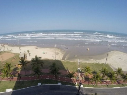 Apartamento de 01 Dormitório de Frente à Praia à Venda na Praia Grande - Bairro Vila Caiçara