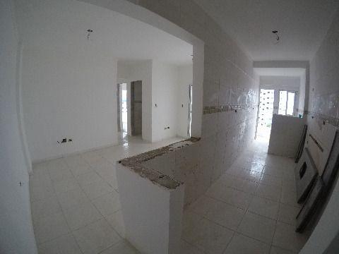 Oportunidade apartamento dois dormitórios novo com suíte e gourmet R$240.000,00