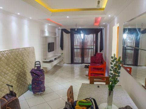 Apartamento 02 dorm., Praia Grande, Vista Mar