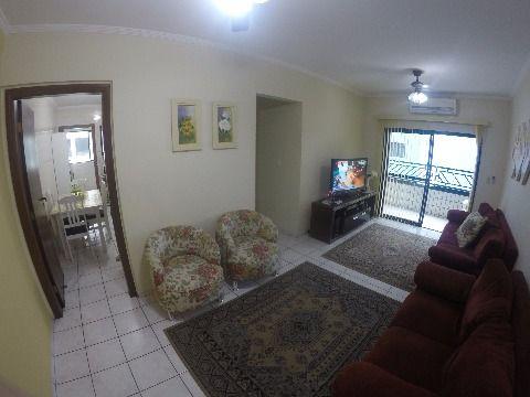Apartamento em Praia Grande, são 2 dormitórios sendo 1 suíte