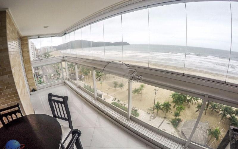 Apartamento frente para o mar a venda em Praia Grande
