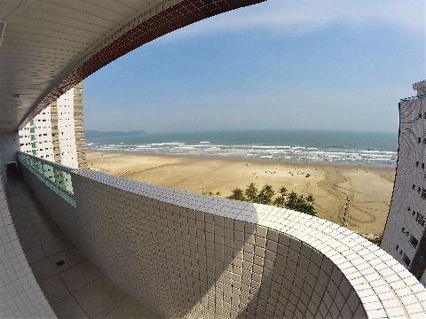 Apartamento de 02 Dorm. e 01 Suíte , 82 m² e Vista para o Mar