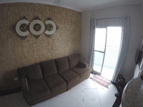 Excelente apartamento de 1 dormitório em Praia Grande no Bairro Boqueirão