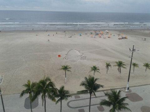 Lindo apartamento frente para o mar à venda em Praia Grande Bairro Aviação