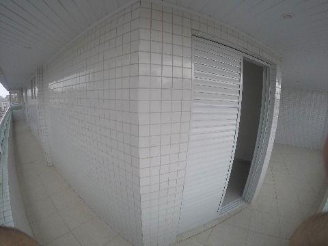 APARTAMENTO DE 03 DORMITÓRIOS, 01 SUÍTE, COM 110 M², GUILHERMINA, PRAIA GRANDE
