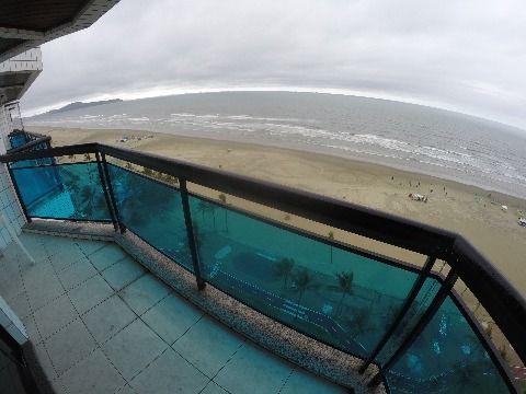 Espetacular apartamento em Praia Grande no Bairro Vila Tupi