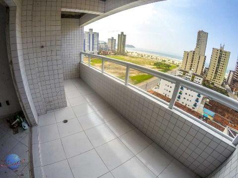 02 dormitórios com suite em Praia Grande
