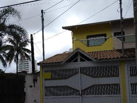 Casa em Guilhermina - Praia Grande
