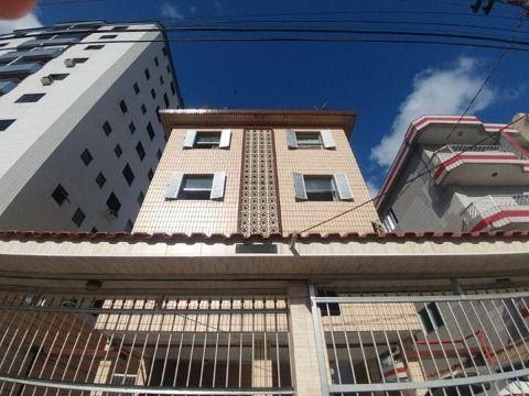 Apartamento com um dormitório no Bairro do Boqueirão em Praia Grande