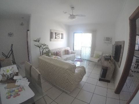 Lindo apartamento um dormitório com vista mar na Vila Guilhermina