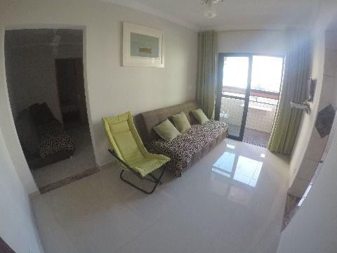 Apartamento com um dormitório na Aviação em Praia Grande SP