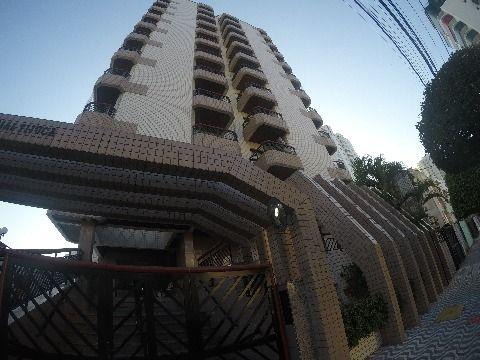 Apartamento dois dormitórios com suíte Canto do Forte  em Praia Grande !