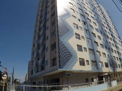 Apartamento 01 dormitório Guilhermina/Praia Grande