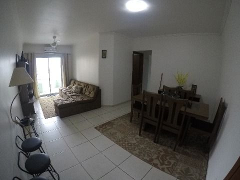 Belo apartamento dois dormitórios com suíte em Praia Grande!