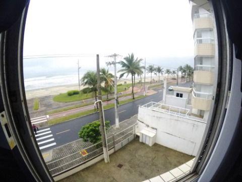 Kitnet á venda - frente pro mar - Caiçara/Praia Grande/SP