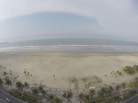 Apartamento com 4 Suítes Frente Mar na Praia Grande - Bairro Aviação
